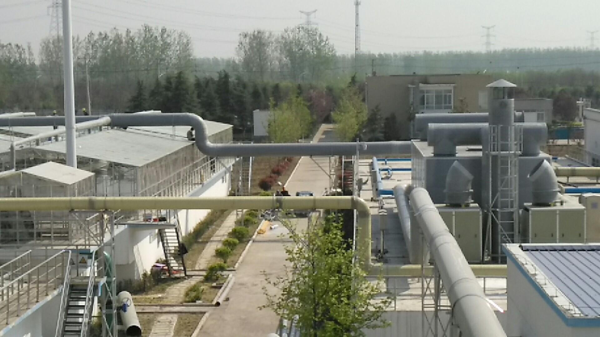 新沂城市污水处理厂除臭工程